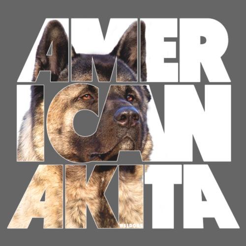 American Akita I - Miesten premium t-paita