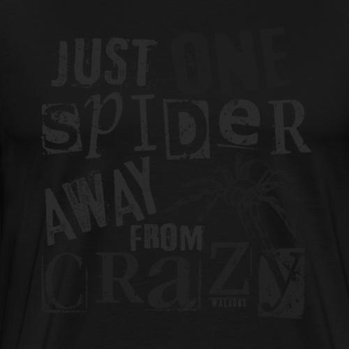 One Spider Away IV - Miesten premium t-paita