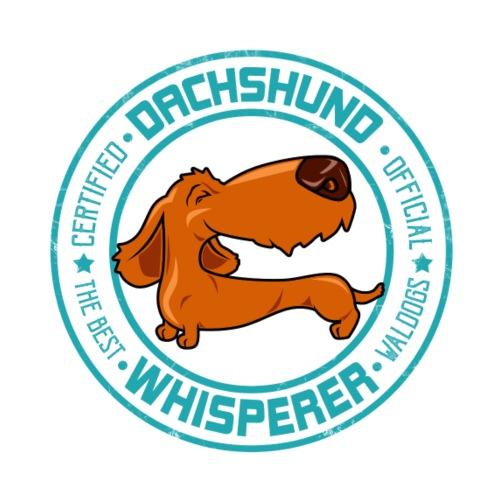 Dachshund Whisperer II - Miesten premium t-paita