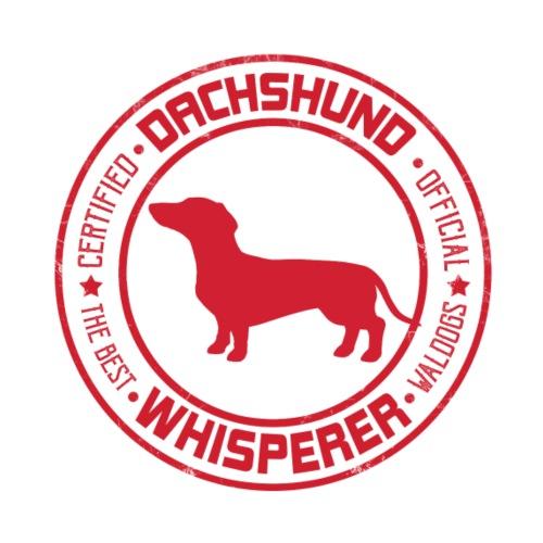 Dachshund Whisperer SH - Miesten premium t-paita