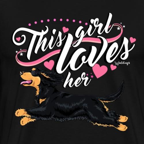 cockergirl10 - Men's Premium T-Shirt