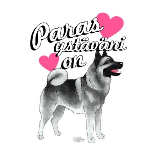 harmaanorjanystava - Miesten premium t-paita