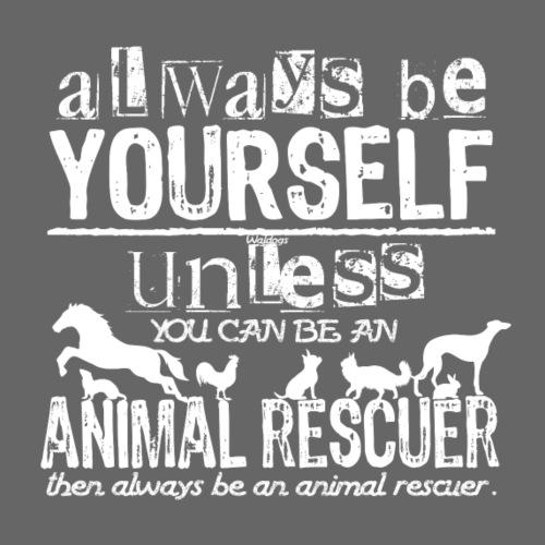 Animal Rescuer - Miesten premium t-paita