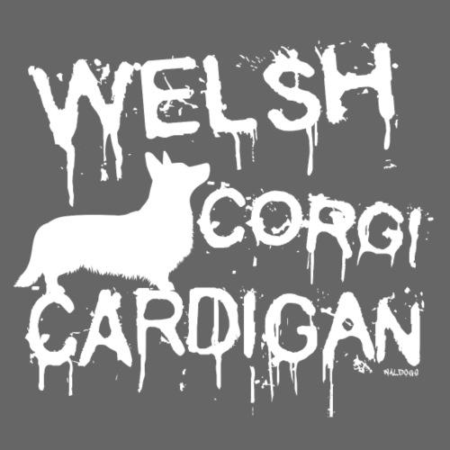 Drip Cardigan I - Miesten premium t-paita