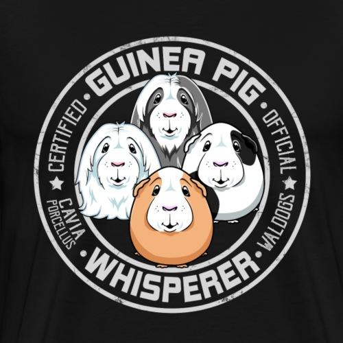 Guinea Pig Whisperer - Miesten premium t-paita