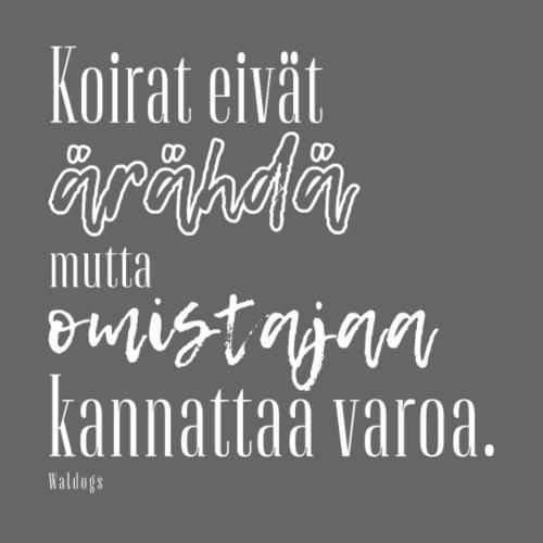 Varo Omistajaa II - Miesten premium t-paita