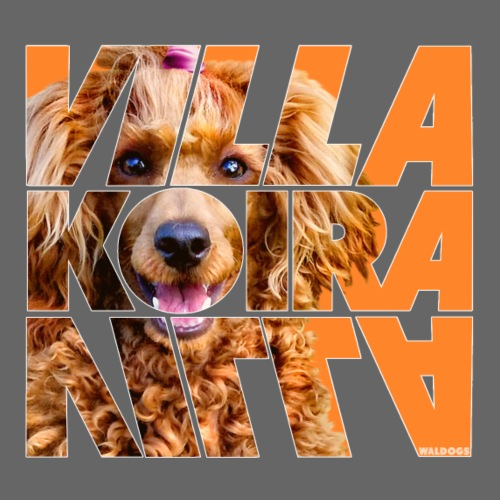 Villakoira Nassu IV - Miesten premium t-paita