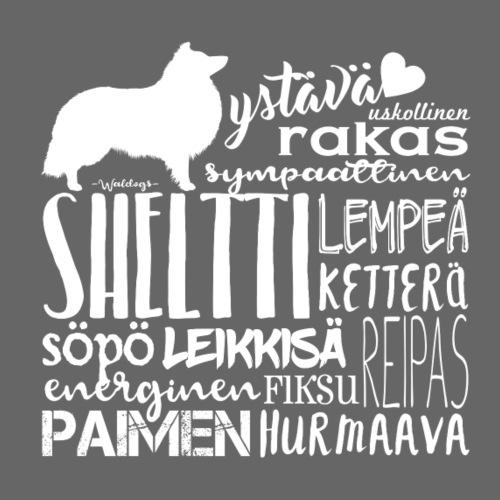 sanatsheltti - Miesten premium t-paita