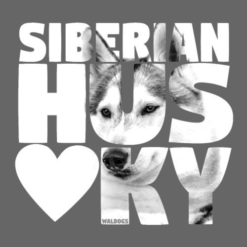 NASSU Siberian Grey - Miesten premium t-paita