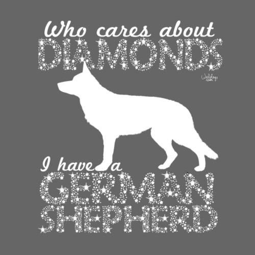 germanshepherddiamonds - Miesten premium t-paita