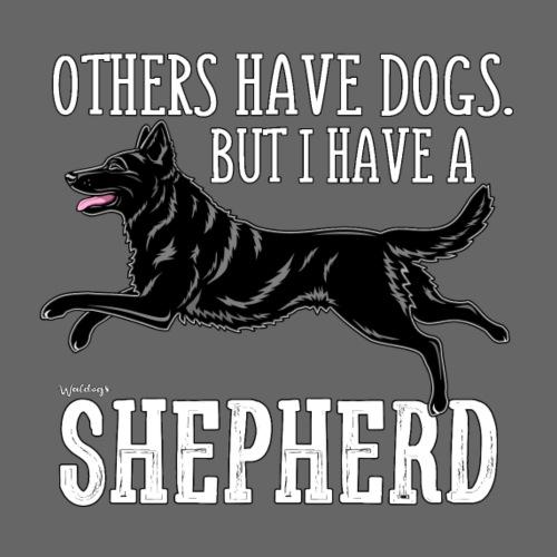 GSD Shepherd Dogs 3 - Miesten premium t-paita