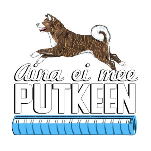 Akita Putkeen III - Miesten premium t-paita