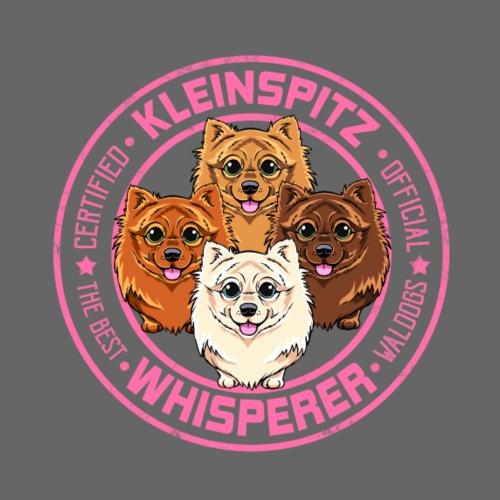 Kleinspitz Whisperer III - Miesten premium t-paita