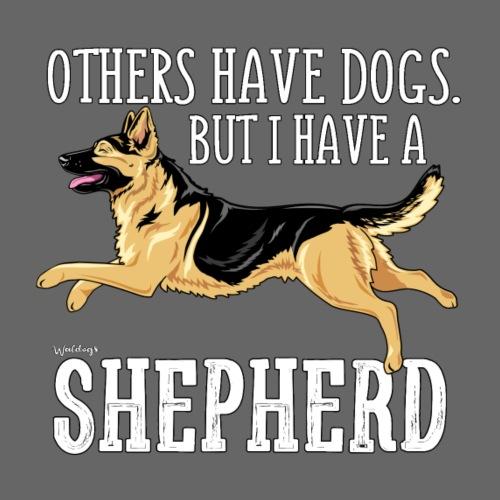 GSD Shepherd Dogs 2 - Miesten premium t-paita