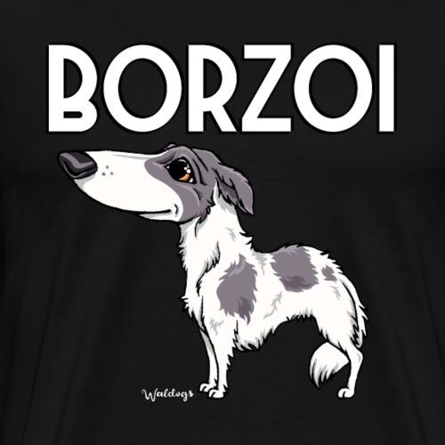 borzoi5 - Men's Premium T-Shirt