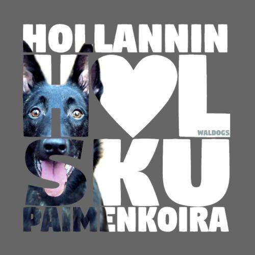 NASSU Holsku LK Väri - Miesten premium t-paita