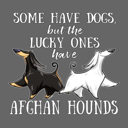 Lucky Afghans - Miesten premium t-paita