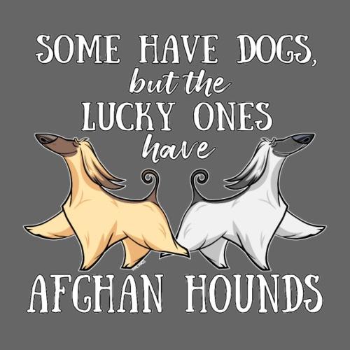 Lucky Afghans II - Miesten premium t-paita