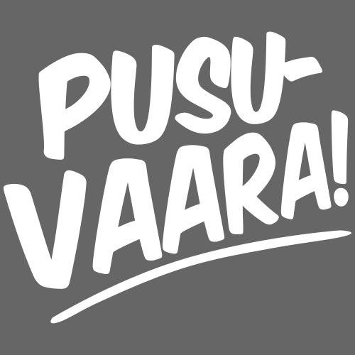 PUSUVAARA - Miesten premium t-paita