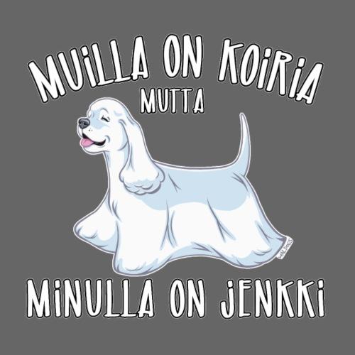 Jenkki Koiria 5 - Miesten premium t-paita