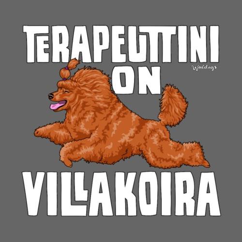Villakoira Terapeutti 7 - Miesten premium t-paita