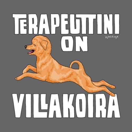 Villakoira Terapeutti 2 - Miesten premium t-paita