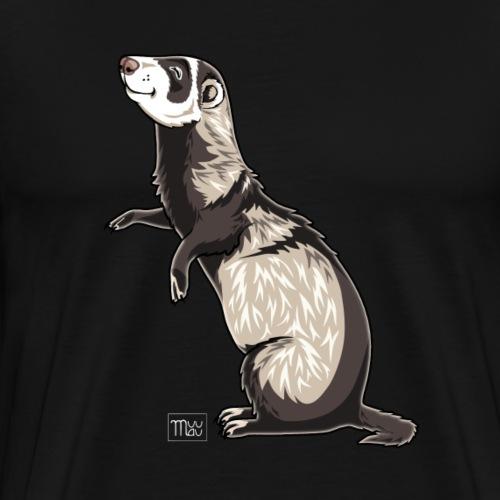 Ferret IV - Miesten premium t-paita