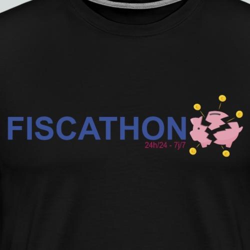 FISCATHON 24h sur 24 7j sur 7 - T-shirt Premium Homme