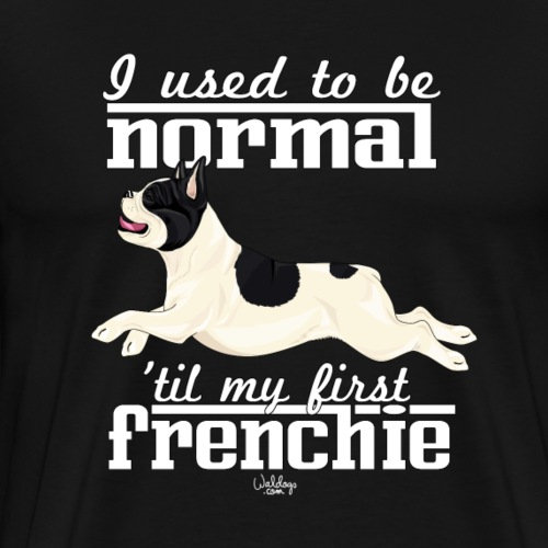 frenchienormal - Men's Premium T-Shirt