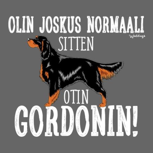 Gordoninsetteri Normaali - Miesten premium t-paita