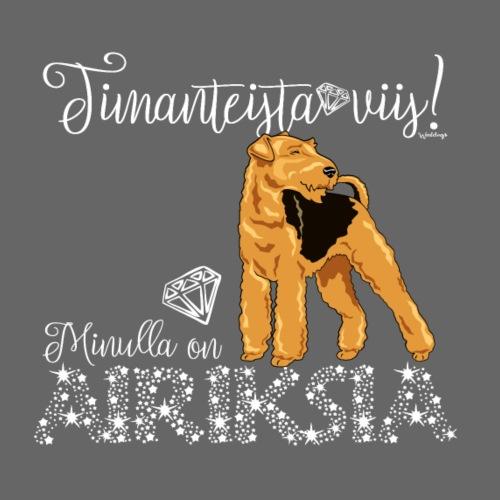 Airedale Dimangit 03 - Miesten premium t-paita