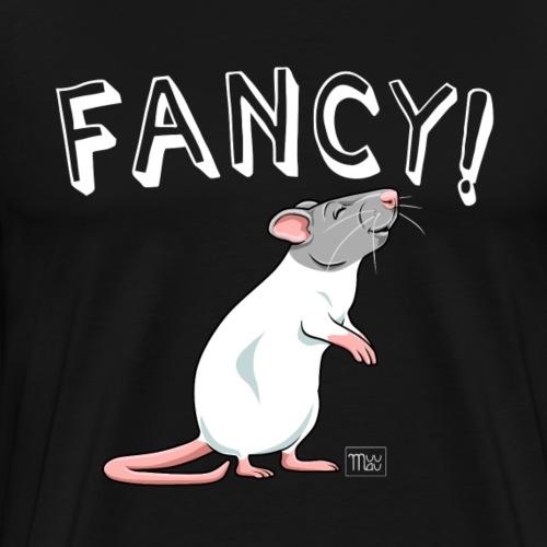 Fancy! Rat V - Miesten premium t-paita
