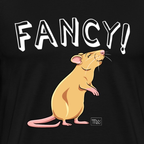 Fancy! Rat IV - Miesten premium t-paita