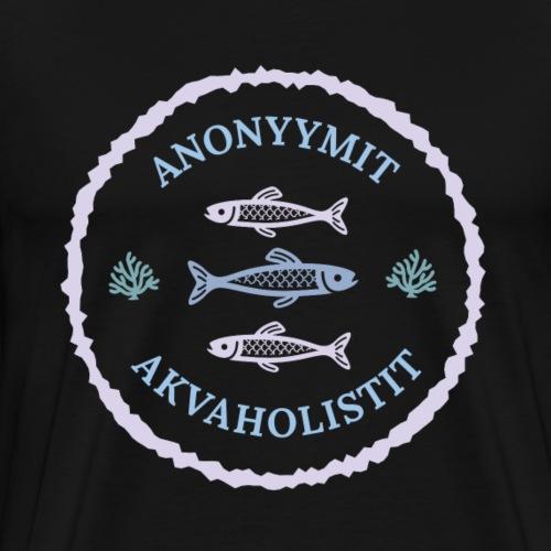 Anonyymit Akvaholistit - Miesten premium t-paita