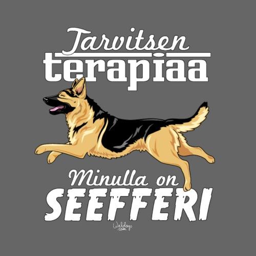 seefferiterapiaa - Miesten premium t-paita