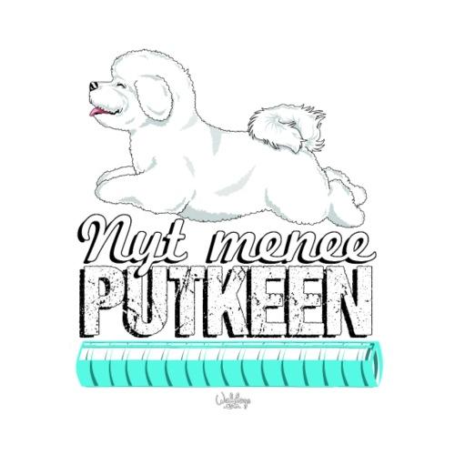 bichonputkeen2 - Miesten premium t-paita