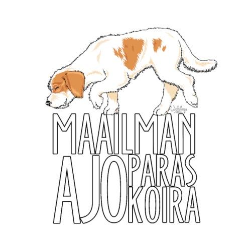istriaparasajokoira - Miesten premium t-paita
