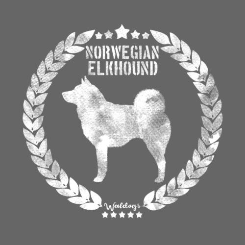 Norwegian Elkhound Grey - Miesten premium t-paita