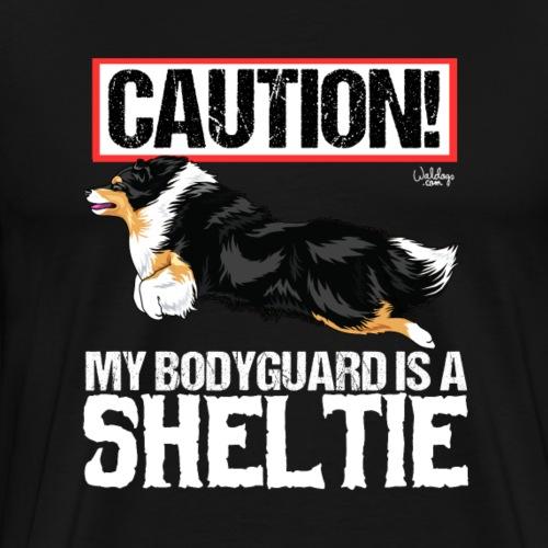 sheltieguard2 - Men's Premium T-Shirt