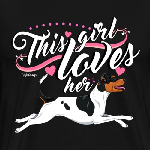 Brazilian girl - Men's Premium T-Shirt