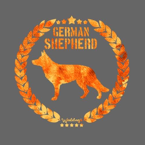 GSD Copper Army SH - Miesten premium t-paita