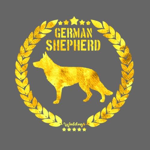 GSD Gold Army Sh - Miesten premium t-paita