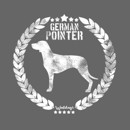 German Pointer Army SH 02 - Miesten premium t-paita