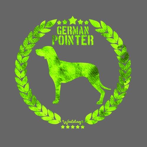 German Pointer Army SH 01 - Miesten premium t-paita