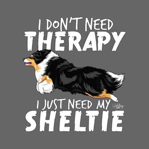 sheltietherapy5 - Miesten premium t-paita