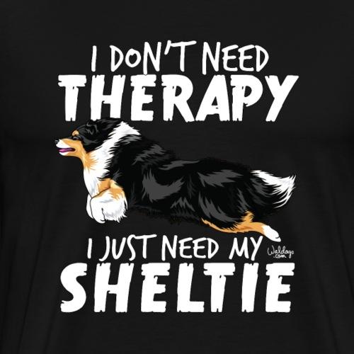 sheltietherapy5 - Men's Premium T-Shirt