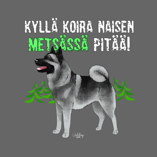 harmaanorjanmetsan - Miesten premium t-paita