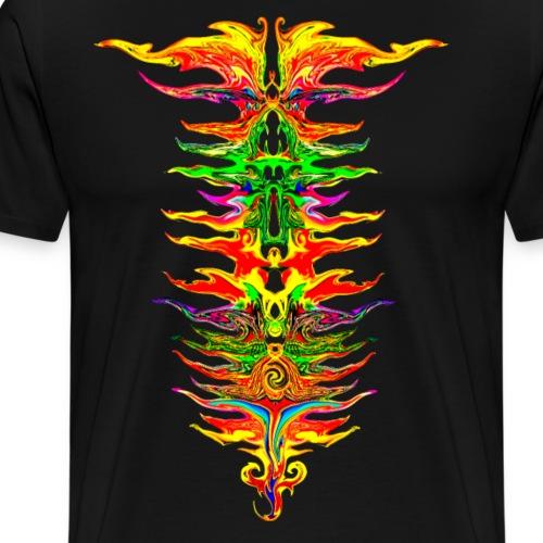 Color your life! Farbe, Chakra, bunt, Evolution - Männer Premium T-Shirt
