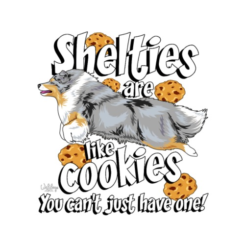 sheltiecookies - Miesten premium t-paita