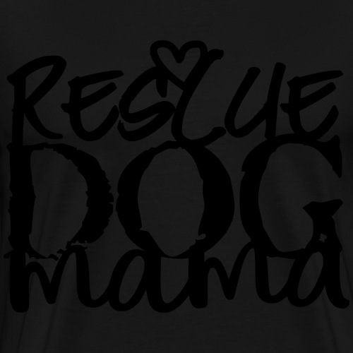 Rescue Dog Mama 2 - Men's Premium T-Shirt